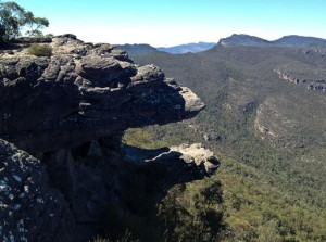 Grampians National Park - Jaws of death