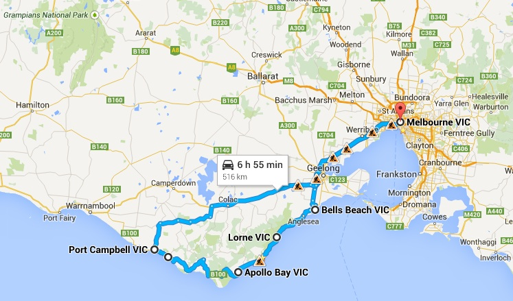 Great Ocean Road Tour - 1 day