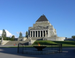 Melbourne things to do - Shrine of Remembrance
