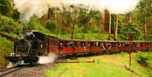 Melbourne things to do - Puffing Billy
